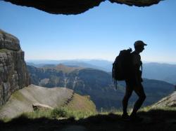 au dessus du canyon d'Arrazas.JPG
